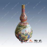 景德镇手绘高档陶瓷花瓶生产厂家 千火陶瓷