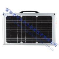可多为SZYL-UPSS-20W太阳能多晶电池板 20W超薄手提太阳能发电系统