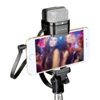 FionTu/方图 FT-S100手机支架麦克风唱吧全民K歌直播苹果安卓话筒