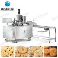 旭众厂家直销新款杏仁饼机小型多功能炒米饼机一件代发