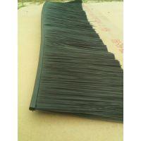 供应塑料底座软体条刷,弯曲塑料毛刷条,尼龙丝塑料丝密封条刷
