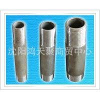 厂家供应 不锈钢水暖对丝接头管件 水暖接头 水暖配件 量大从优