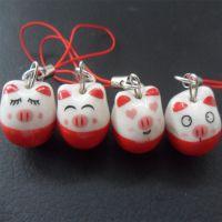 陶瓷手机链 陶瓷 可爱 手机链娃娃 手机链挂件 景德镇陶瓷表情