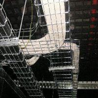 济南天安网格桥架,大跨距桥架,热镀锌桥架,开放式网格桥架