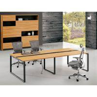西安会议台 高端精品钢架办公会议桌椅量身定做2812Y