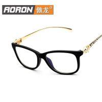 工厂直销新款男女式眼镜框时尚配镜防蓝光复古眼镜架7200K