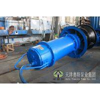 锦屏500出水口径潜水轴流泵|津奥特500QZB-50轴流泵耐磨|扬程达12米的大流量轴流潜水泵