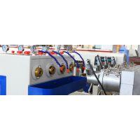 厂家供应PVC管材设备 锥形双螺杆挤出机 专注于塑料管材生产线