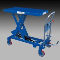 300kg手动液压小平台 手推模具车 鑫力小升降机生产厂家