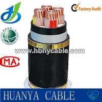 0.6/1KV Low Voltage XLPE / PVC Insulated AWG Electric Power Cable