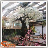 酒店装饰大型仿真桃花树 假樱花树影楼装饰桃花树 人造桃花树