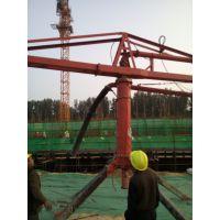 黑龙江大庆郑科HG12混凝土双槽钢布料杆稳定安全