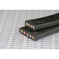 供应起重机扁电缆_YRBG起重机钢丝加强型扁电缆