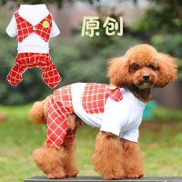 宠物假两件四脚衣服 小狗狗春秋冬服装 原创独特设计 纯棉面料