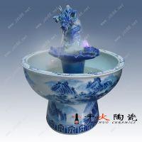 陶瓷喷泉,青花瓷喷泉,景德镇陶瓷厂家