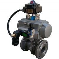 2520不锈钢气动PTFE球阀安装优质服务