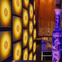 航标产销3D立体背景墙玻璃 酒店佳选 全场低价风暴来袭