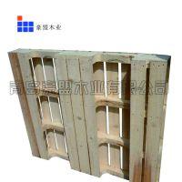 青岛松木挖豁托盘专业定做木质托盘厂家生产挖豁松木托盘低价出售