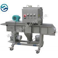 上校鸡块裹粉机 山东有为机械全自动上粉裹粉机专业厂家