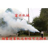 黑龙江果树打药烟雾机 富兴高配锂电池弥雾机 蔬菜大棚烟雾机厂家