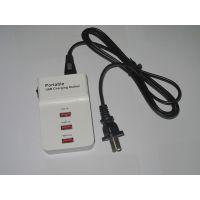 厂家直销英规USB充电头 多接口3A 小米智能usb充电头