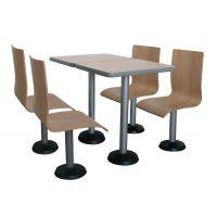 长沙快餐厅桌椅,快餐店桌椅,长沙餐饮桌椅批发