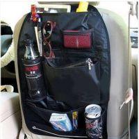汽车椅背袋 多功能收纳袋储物袋置物袋 黑米灰180g  彩盒加0.5元