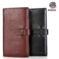 商务男士手包休闲长款钱包 多卡位钱夹黑棕两色可选 批发定制