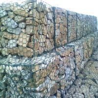 海滨港口防御工程石笼网挡土墙 镀锌石笼网挡土墙泥石流治理