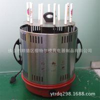 新款上市:大容量陶 瓷叉11叉立式旋转家用电烤炉 全自动烧烤炉