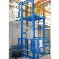 供应峻峰SJD系列导轨式升降货梯、单轨链条式升降平台厂家直销 质量可靠