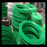 挤出生产PE输送垫条 耐磨条 高分子耐磨条 塑料垫条 机械设备配件