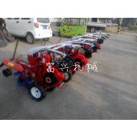 四冲程小型旋耕机 自走式柴油田园管理机 富兴种植起垄开沟机