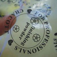 厂家直销PVC耐高温不干胶 LOGO商标印刷异形PVC不干胶 二维码贴纸