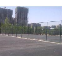 周口绿色球场围栏网,操场铁丝网篮球场围网,浸塑处理