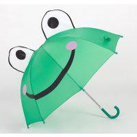 YL【雅乐制伞】儿童经典卡通立体造型 可爱动物耳朵伞 手动个性卡通儿童伞 涤丝布直杆
