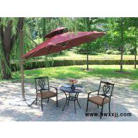 定做室外庭院高端旋转遮阳伞、直销保安岗亭遮阳伞厂家