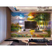 个性定制软包电视3D无缝沙发电视床头背景墙经典欧式厂家直销促销