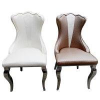 佛山酒店欧式餐椅 餐厅创意椅子 客厅不锈钢餐椅 欧式五金家具
