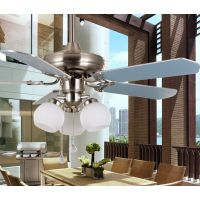 金朗达现代简约吊扇灯风扇灯餐厅客厅吊扇灯具42寸铁叶516款