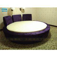 主题酒店水床-圆型恒温水床-情趣电动床-上海漫炫情趣家具定制