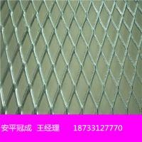 供应牲畜养殖网 重型菱形钢板网 粮仓钢板网价格