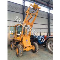 光伏钻眼机铲车改装挖坑机Zl30型 60马力四驱挖坑机设备