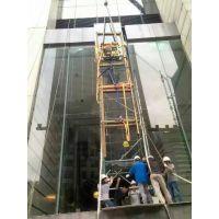 深圳热弯玻璃电梯玻璃安装及更换幕墙玻璃胶