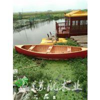 定制欧式竞技木船,木质手划皮筏艇
