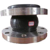 不锈钢橡胶软接头 法兰连接 水泵阀门配件