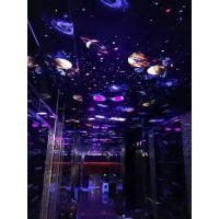 KTV、酒吧等娱乐场所装饰新选择,3D荧光墙布