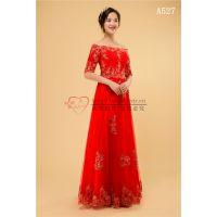 供应批发零售婚纱礼服、新娘装、旗袍、龙凤褂、秀禾服