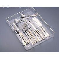 亚克力餐具盒 西餐餐具收纳盒 亚克力餐厅用品