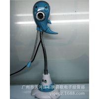 工厂供应高清电脑摄像头头带麦克风免驱 美人鱼笔记本视频头夜视